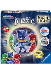 Puzzle 3D Lampada PJ Masks Ravensburger 11771