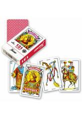 Jeu de Cartes Espagnoles Liliput 40 Cartes Mini Fournier 21598
