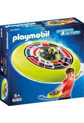 Playmobil Spationaute avec Soucoupe Volante