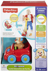 Fisher Price Voiture Interactive Petit Chiot
