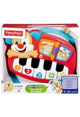 Piano Perrito Aprendizaje Mattel DLD24