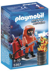 Playmobil Especialista en Extincion de Incendios
