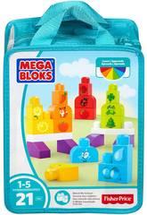 Megabloks Sac Construis et Apprend Mattel CNH08