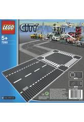 Lego City Gerade Linien und Kreuzungen 7280