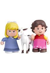 Heidi Confezione con 2 figure