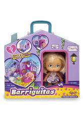 Barriguitas Haus Träger von Bauch mit Puppe 23x20x12cm Famosa 70012701