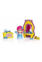 Figura Pin y Pon Princesa Con Espejo Mágico Famosa 700012736