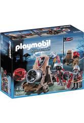 Playmobil - Cannone Gigante dei Cavalieri del Falcone