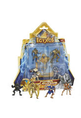 Egyxos Blister 4 Figurines + 4 Cartes