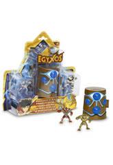 Egyxos Blister 2 Figuras +Cámara De Transformação