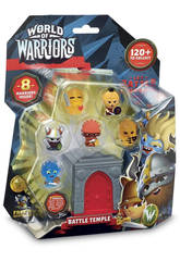 World Of Warriors Blister 8 Figurines + 1 Tour