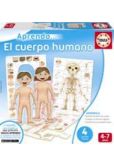 Der Menschliche Körper Lernspiel Educa 16472