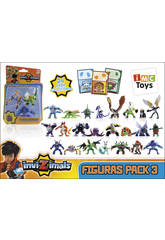 Invizimals Pack 3 Figuras