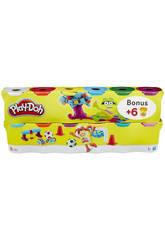 Playdoh Pack 6+6 Pots