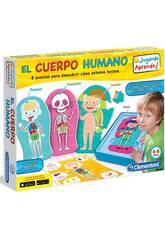 Brettspiel Lernen Sie den menschlichen Körper Clementoni 55114