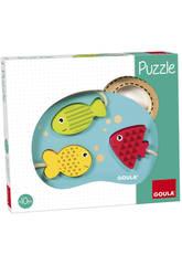 Goula Puzzle Mare 3 Pesciolini