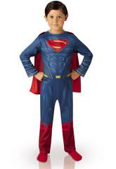 Fato de criança Superman Doj Classic T-L Rubies 620426-L