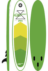 SUP-Board Stand-Up Raider 300x75x10cm Ociotrends WH300-10