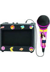 Soy Luna Set da Karaoke Portatile,Nero