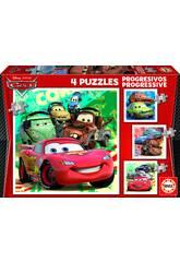 Puzzle Progressivi 12-16-20-25 Cars 2