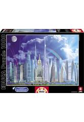 Puzzle 1000 Grands Immeubles