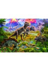 PUZZLE 500 Rencontre des Dinosaures