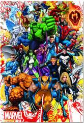 Puzzle 500 Marvel Heroes Educa 15560