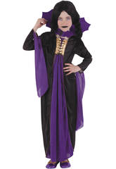 Disfraz Vampiresa Gótica Lila Talla M Rubies S8295-M