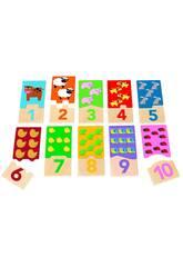 Puzzle Duo 1-10 Goula 53329
