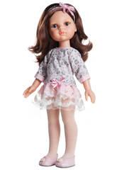 Puppe 32 cm Carol Die Freunde Kleiden Blumen Paola Reina 4502