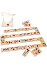 Domino Alfabeto Diset 50268