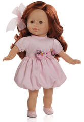 Paola Reina- Poupon - Ana - Las Blanditas Collection vestito rosa - 36 cm