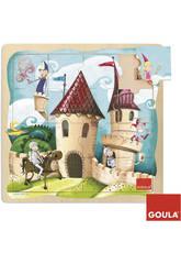 Puzzle Château 16 pièces