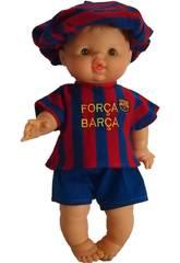 Boneca 43 cm Gordi Menino Barça Paola Reina 034050