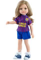 Boneca 32 cm Carla Amiga Barça