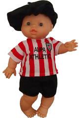 Bébé 34 cm Gordi Enfant Athletic de Bilbao