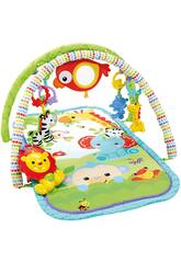 Fisher Price Tapis d'éveil Amis de la Jungle Mattel CHP85