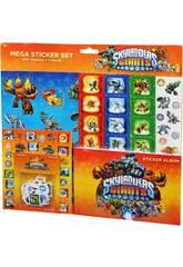 Skylanders mega sticker set
