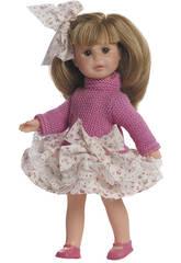 Berjuan Baby Doll 22 cm Irene Bambola Bionda con Armadio