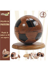 Puzzle 3D balon madera