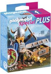 Playmobil Viking avec trésor