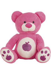 Peluche Ours Fruits 45 cm 4 couleurs assort.