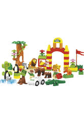 Container Blocs de Construction Jungle 47 Piezas 23 x 34 x 20 cm