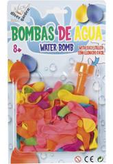 Globos de Agua 150 piezas con Adaptador Llenado