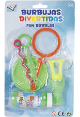 Bulels de Savon Amusantes Avec Accessoires
