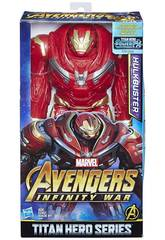 Vingadores Hulkbuster Titan 30 cm. Herói Série Hasbro E1798