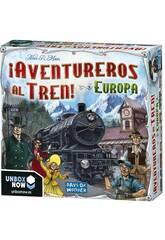Les aventuriers du train! Europe Asmodee 7282