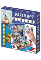 Juego Manualidades Paper Art Pirates Cayro 829