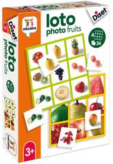 Loto Photo Fruits Diset 68943
