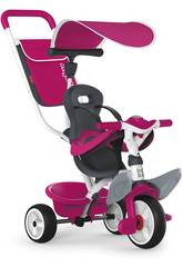 Tricycle 3 en 1 Rose Baby Balade 2 Smoby 741101